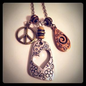 Lia Sophia Mixed Metals Necklace